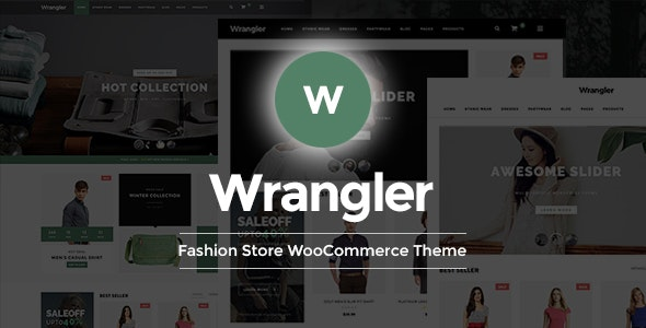 Wrangler - Fashion Store Multipurpose Responsive WooCommerce WordPress Theme - WooCommerce eCommerce