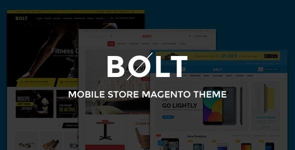 Bolt - Mobile Store Responsive Magento Theme - Shopping Magento