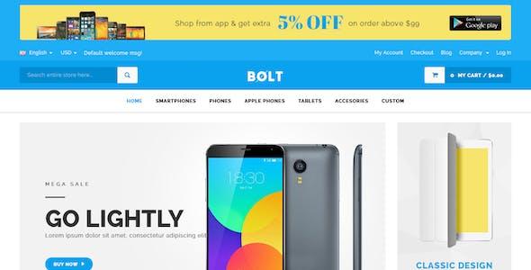 Bolt - Mobile Store Responsive Magento Theme