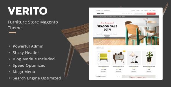 Verito - Furniture Store Magento Theme - Shopping Magento
