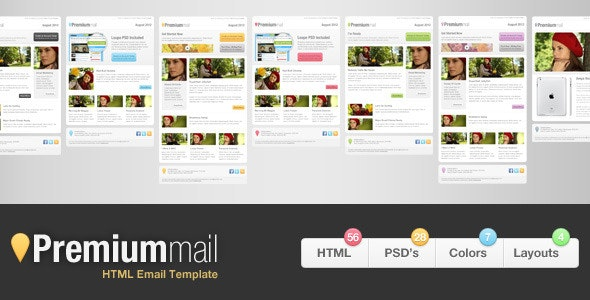 PremiumMail - Email Template - Email Templates Marketing