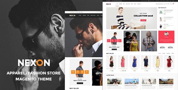Nexon - Apparel Store Responsive Magento Theme - Shopping Magento