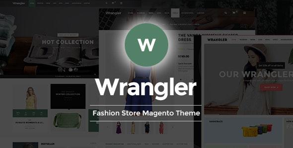 Wrangler - Fashion Store Responsive Magento Theme - Shopping Magento