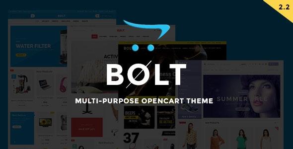 Bolt - Mobile Store Responsive OpenCart Theme - Shopping OpenCart