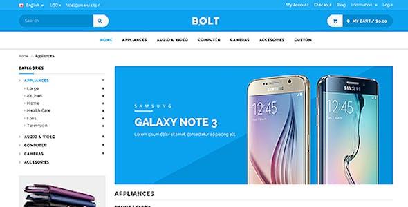 Bolt - Mobile Store Responsive OpenCart Theme