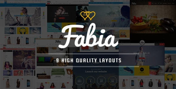 Fabia - Restaurant Responsive OpenCart Theme - Shopping OpenCart