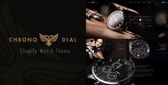 Chrono Dial - Watch Shopify theme by BuddhaThemes | ThemeForest