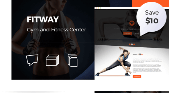 Fitway | Gym & Fitness HTML5 Responsive Template - Business Corporate
