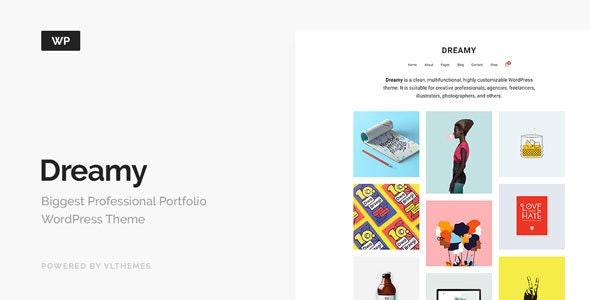 Dreamy - Biggest Portfolio WordPress Theme - Portfolio Creative