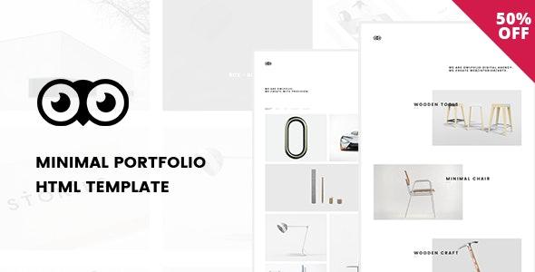 Owlfolio - Personal Portfolio Template - Portfolio Creative