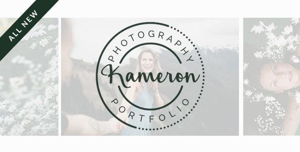 Kameron - Your Photography Portfolio - Photography Creative