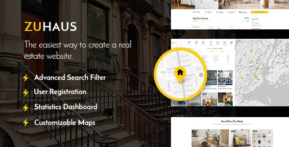 Zuhaus - Real Estate Theme - Real Estate WordPress