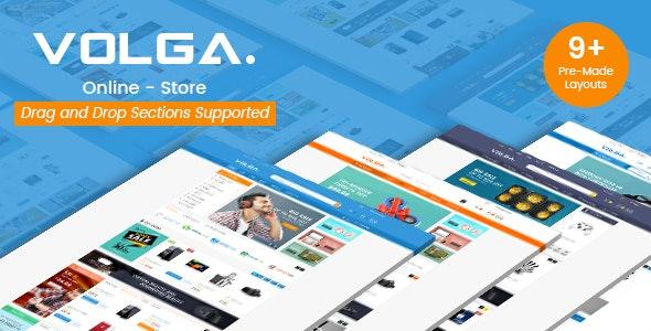 Volga - MegaShop Responsive Shopify Theme - Technology, Electronics, Digital, Food, Furniture - Technology Shopify