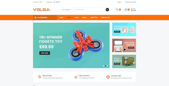 Volga - MegaShop Responsive Shopify Theme - Technology, Electronics, Digital, Food, Furniture