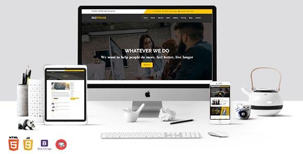 BIZPRIME- One Page Multipurpose Template - Business Corporate