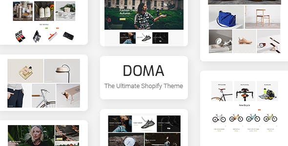 Doma - Ultimate Multi Language Shopify Theme Section Ready