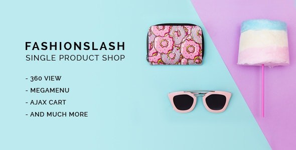 Fashionlash - Responsive Opencart Theme for Single Product Store - Fashion OpenCart
