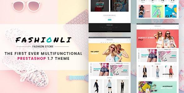 Fashionli - Fashion Store PrestaShop 1.7 Theme - Fashion PrestaShop