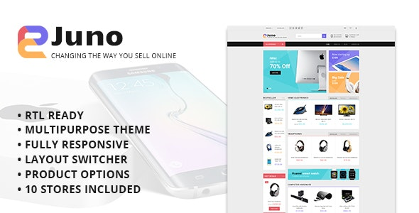 Juno - Multipurpose Opencart Template - Shopping OpenCart