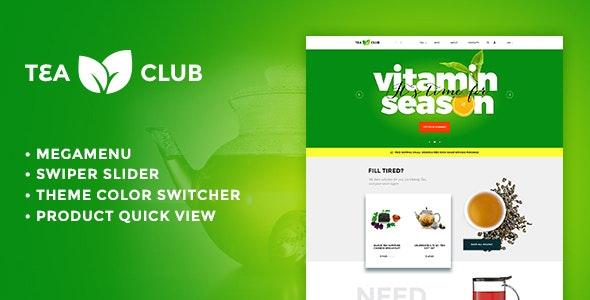 Tea Club - Responsive Shopify theme - Shopify eCommerce