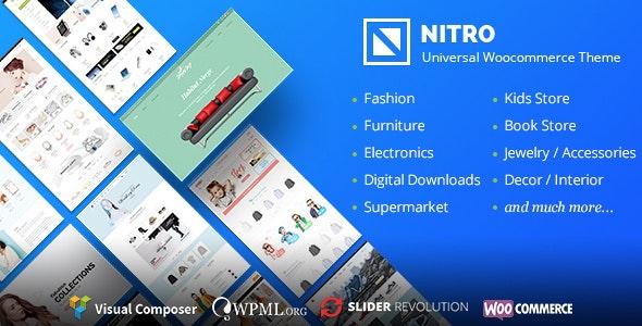Nitro - Universal WooCommerce Theme from ecommerce experts - WooCommerce eCommerce