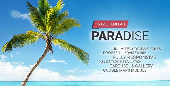 Hot Paradise - Travel Joomla Template - Travel Retail