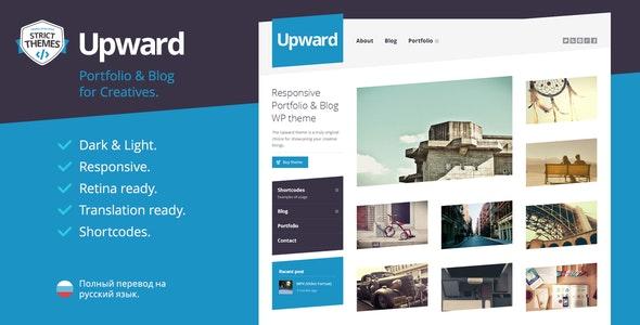 Upward - Experimental Portfolio & Blog WordPress Theme - Experimental Creative