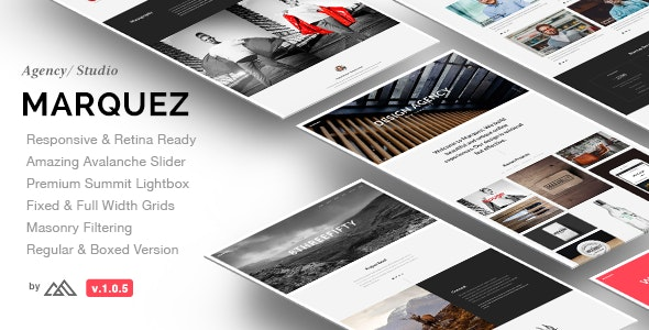 Marquez - A Creative Agency HTML Template - Portfolio Creative