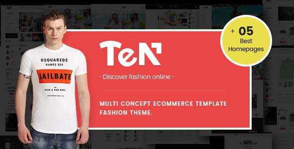 Ves Ten - Magento 2.2.x Theme Fashion - Magento eCommerce