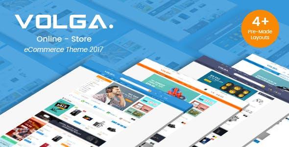 Volga - MegaShop Responsive Prestashop 1.7 Theme