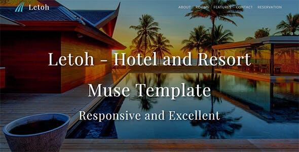 Letoh_Hotel & Resort Muse Template