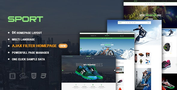 Sport - Facilitate Responsive PrestaShop 1.7 Theme For Sportswear - Shopping PrestaShop