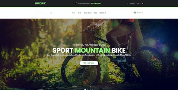 Sport - Facilitate Responsive PrestaShop 1.7 Theme For Sportswear