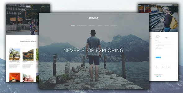 Travela Muse - Muse Templates