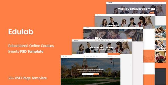 Edulab - Educational PSD Template - Miscellaneous Photoshop