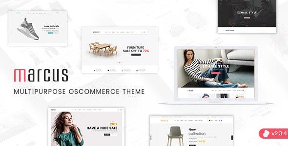 Marcus - Premium Multipurpose osCommerce Theme - osCommerce eCommerce