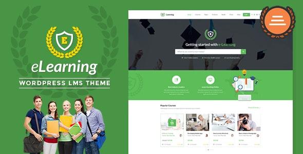 Epsilon   eLearning LMS WordPress Theme - Education WordPress