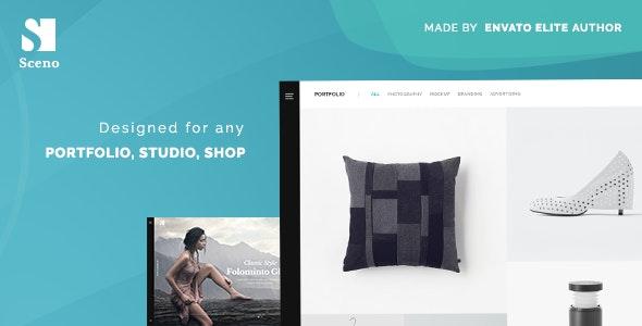 Sceno - Responsive Multi-Purpose WordPress Theme - Creative WordPress