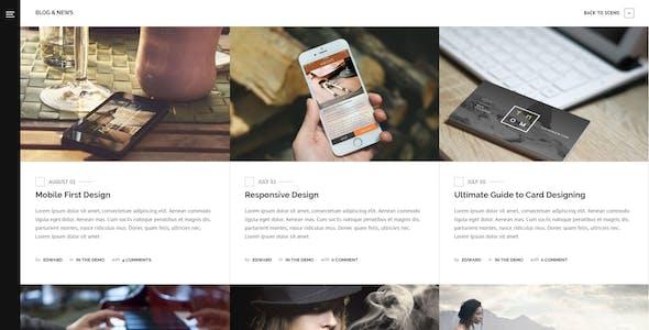 Sceno - Responsive Multi-Purpose WordPress Theme