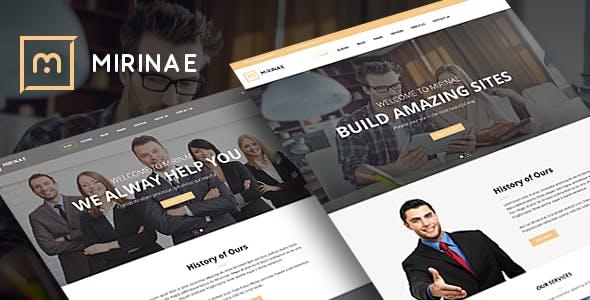 VG Mirinae - WordPress Insurance Agency Theme