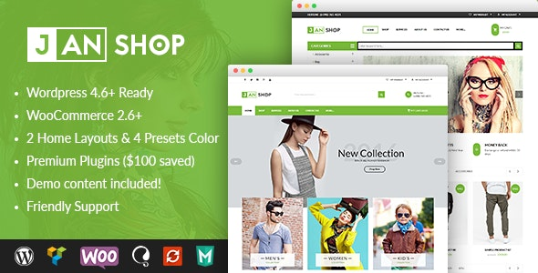 VG JanShop - Responsive WooCommerce WordPress Theme - WooCommerce eCommerce