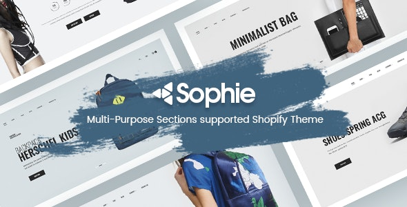 Sophie -  Responsive Clothing, Shoes, Watches, Furniture, Fashion, Electronics, Bags  Shopify Theme - Fashion Shopify