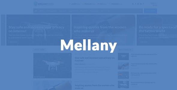 Mellany - WordPress Theme for Magazine / News / Blog