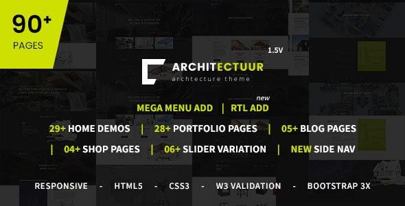 Architectuur - Interior Design, Decor, Architecture Business HTML Template - Business Corporate