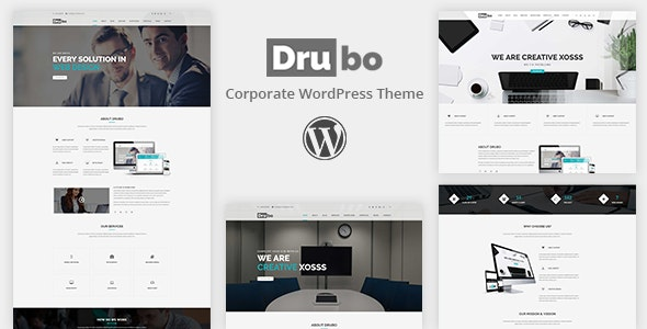 Drubo - Business Corporate WordPress Theme - Business Corporate