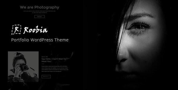 Roobia - Portfolio WordPress Theme - Portfolio Creative