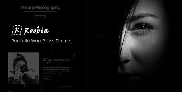 Roobia - Portfolio WordPress Theme