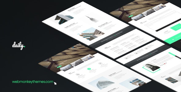 Daily - Muse Template - Muse Templates
