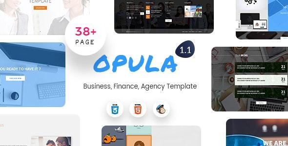 Opula - Business, Finance, Agency Template - Business Corporate