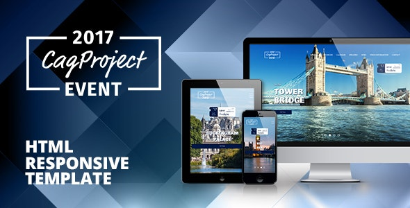CAG Event and Conference - Responsive HTML Template - Events Entertainment